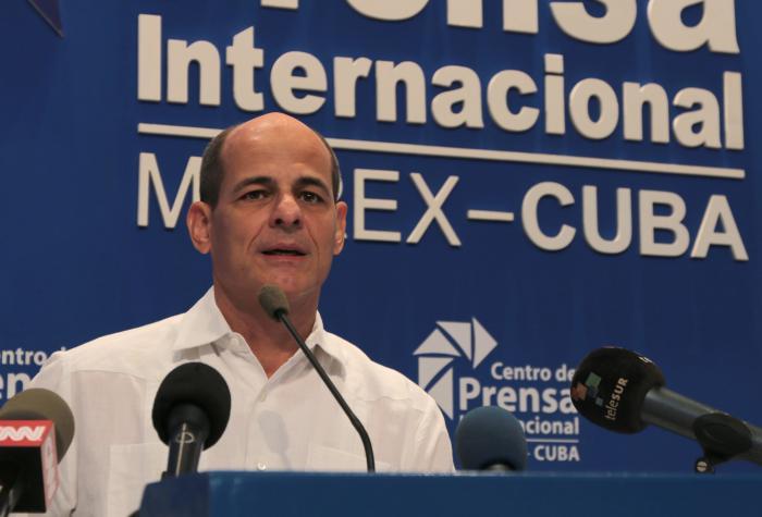 stellvertretender kubanischer Außenminister Rogelio Sierra