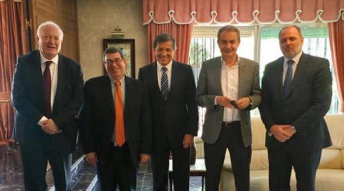 kubanischer Außenminister in Spanien
