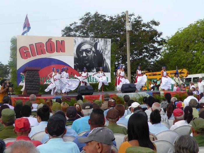 56. Jahrestag des Sieges von Playa Girón