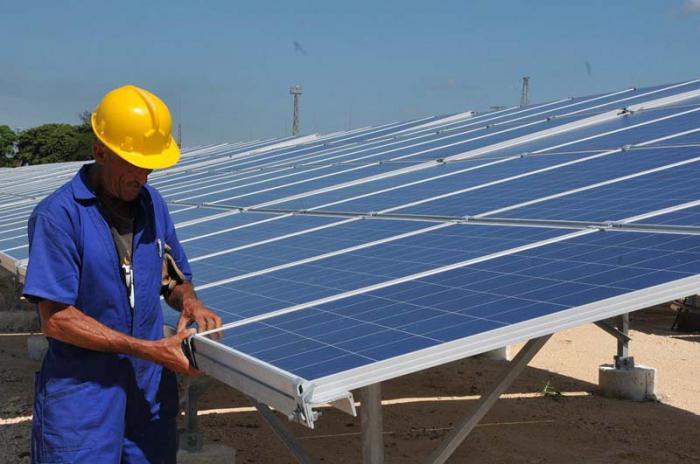 Nutzung der Sonnenenergie in Cienfuegos