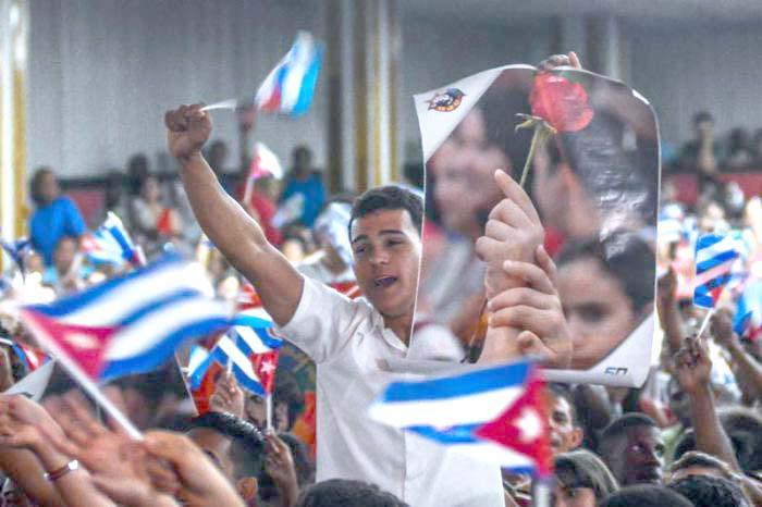 1-Mai-Demonstration in Havanna