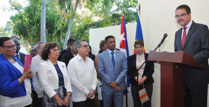 Botschaft der Seychellen in Havanna