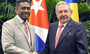 Raúl empfing den Präsidenten der Seychellen