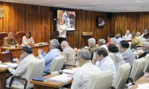 Sitzung des Ministerrats