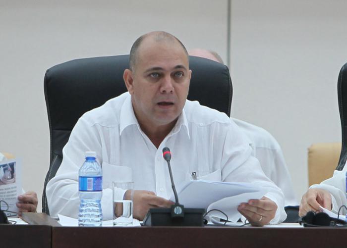 kubanischer Gesundheitsminister Dr. Roberto Morales Ojeda