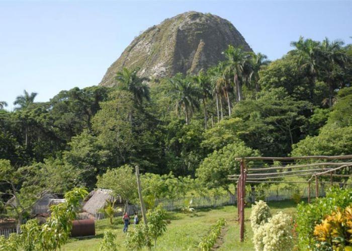 Landschaft im Schutzgebiet Lomas de Fomento