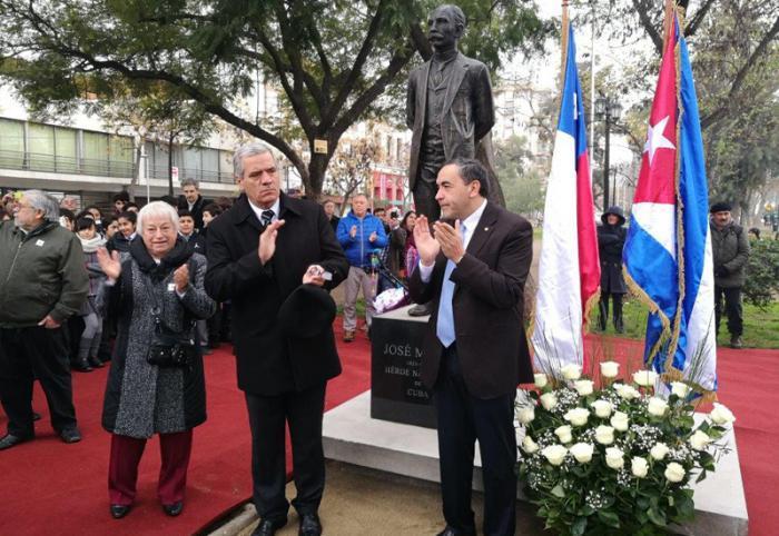 José-Martí-Denkmals in Santiago de Chile