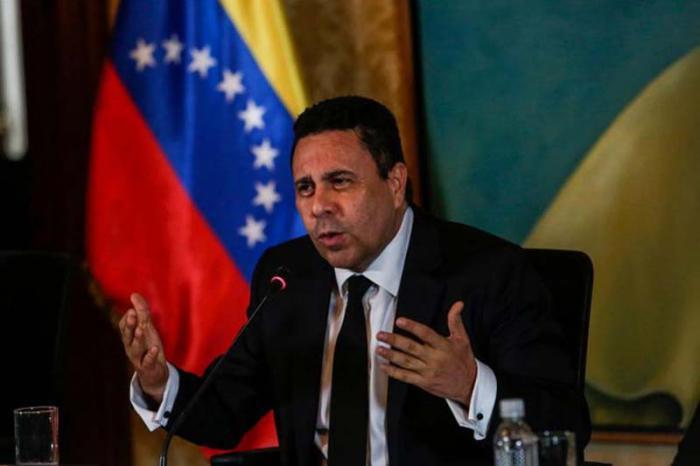 Venezolanischer Außenminister Samuel Moncada