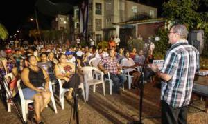 Wahlprozess-Debatte in Stadtbezirk Havannas