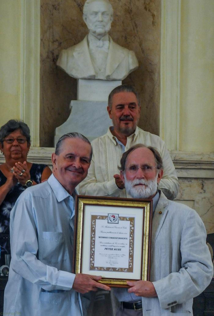 Nobelpreisträger für Chemie des Jahres 2003 Peter Agre