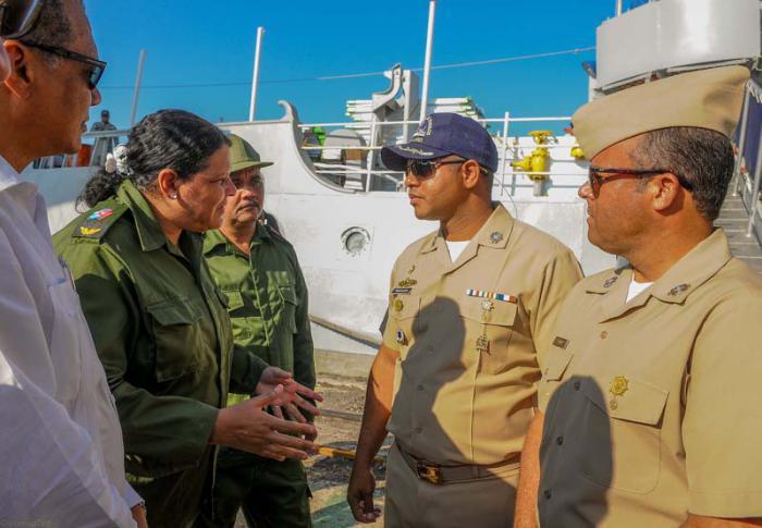 Schiff aus der Dominikanischen Republik