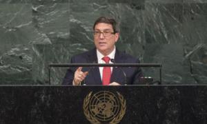 kubanischer Außenminister Bruno Rodríguez