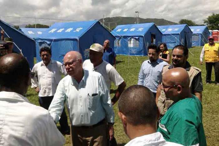 Mexikanischer Gesundheitsminister besucht medizinische Brigade Kubas in Oaxaca