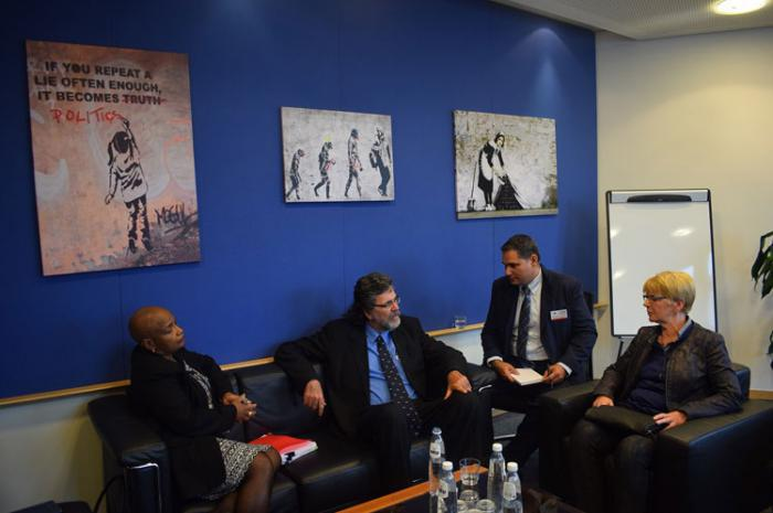 Abel Prieto trifft Abgeordnete des Europaparlaments
