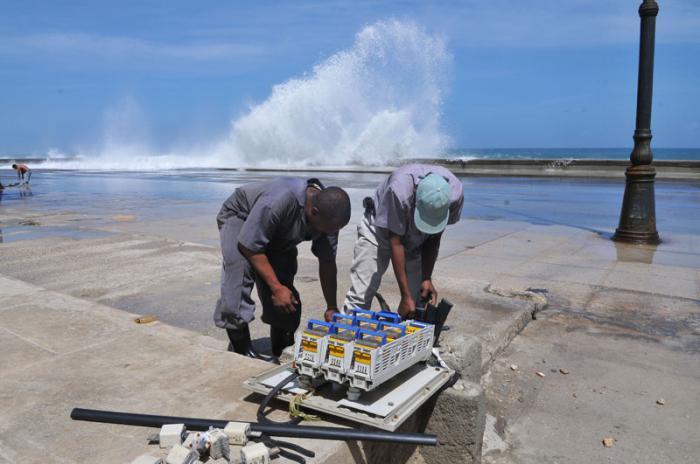 Wiederherstellung des Malecóns