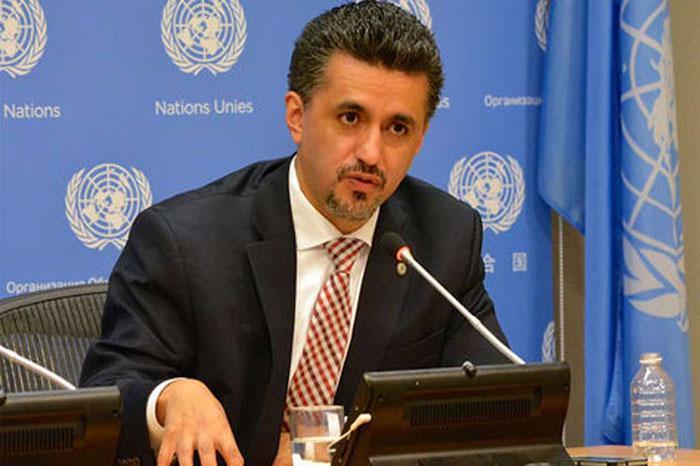 Vertreter Boliviens vor der UNO Sacha Llorenti