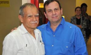 Oscar López Rivera in Kuba