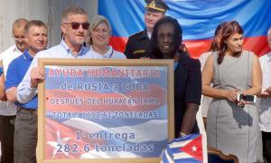 Kuba erhält russische Hilfslieferung für Hurrikan-Opfer
