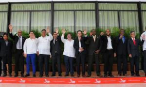Teilnehmer am XVI. Politischen Rat der ALBA