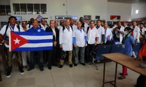 kubanische Medizinbrigade in Sierra Leone