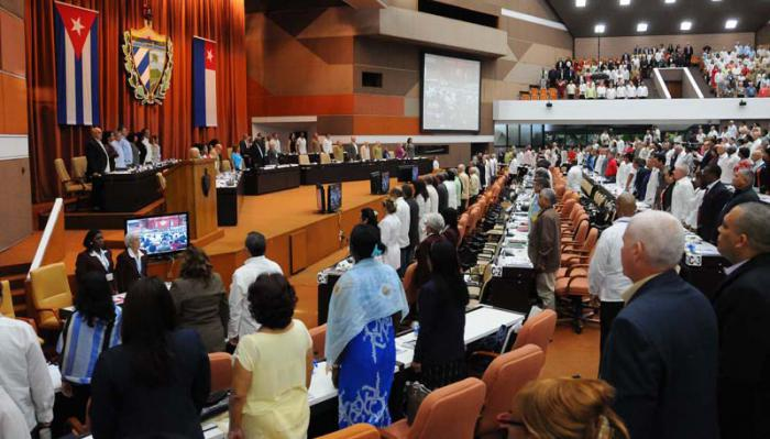 Plenarsitzung des kubanischen Parlaments