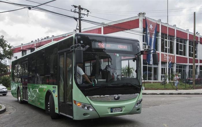 elektrischer Omnibus in Havanna