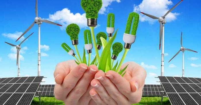 Messe über erneuerbare Energie