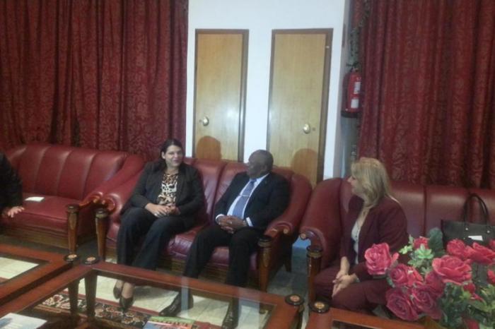 Afrikareise der Vizepräsidentin des Staatsrates Mercedes López Acea