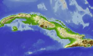 Karte Kuba.Kuba Erstellt Hydrogeologische Karte Kuba Granma Offizielles