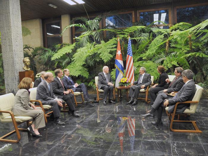US-Kongressabgeordnete zu Besuch in Kuba