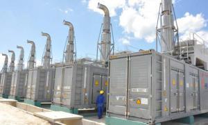 Zentrale für Stromaggregate
