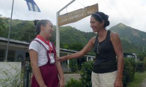 Lehrerin in Santo Domingo