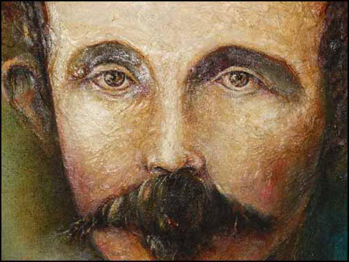 José Martí, Joch und Sterne - Yugo y estrellas, von José Luis Fariñas