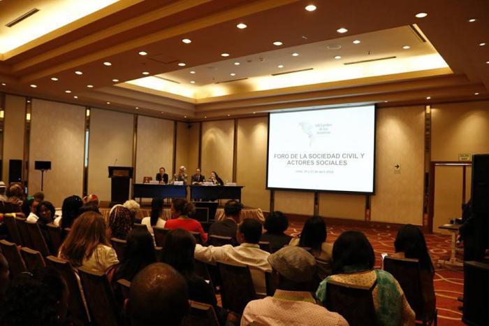 Forum der Zivilgesellschaft des VIII. Amerikagipfels
