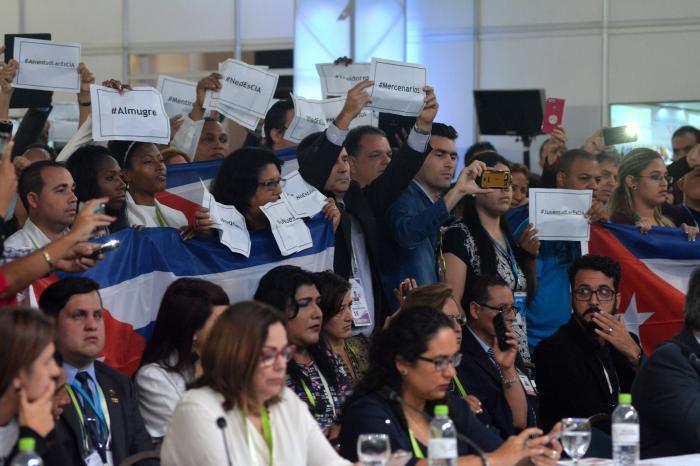 kubanische Delegation
