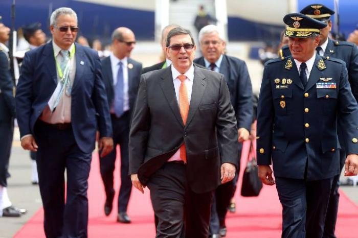 Kubas Außenminister Bruno Rodríguez Parrilla