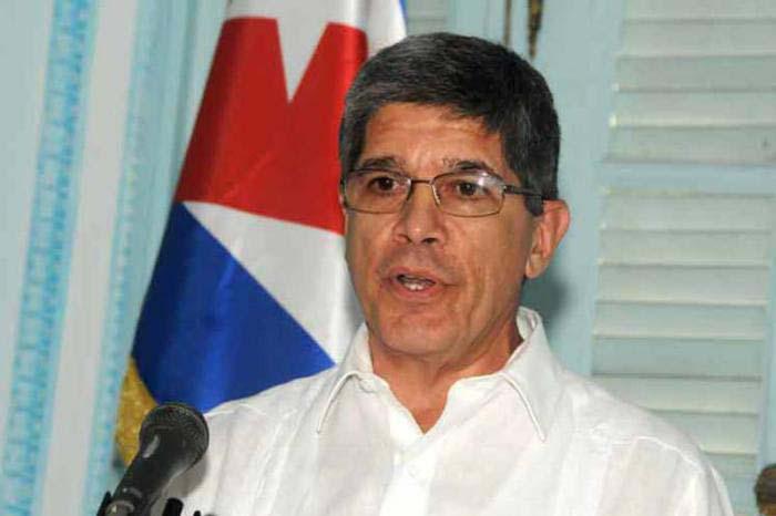 kubanischer Außenminister Carlos Fernández de Cossío