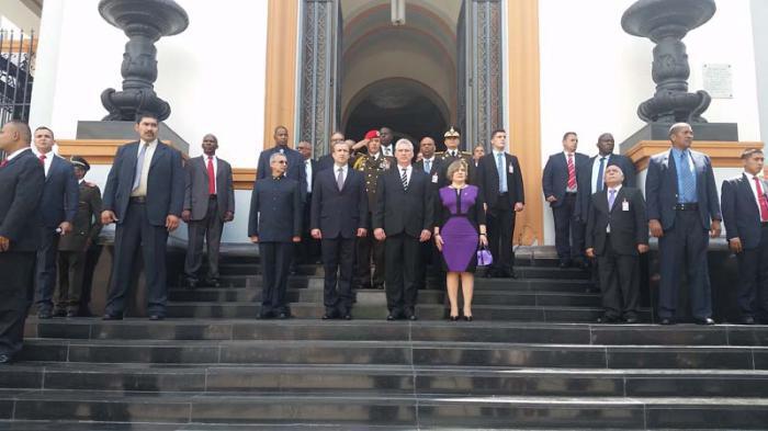 Staatsbesuches des kubanischen Präsidenten in Venezuela
