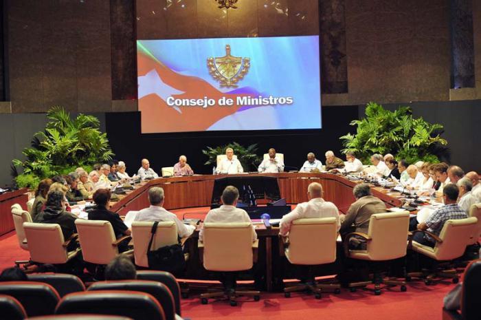 Tagung des Ministerrats