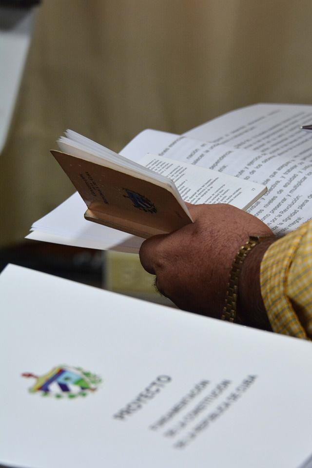Konsultationsprozess des Verfassungsprojekts