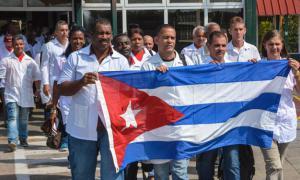 Kubanische Medizinbrigade in Haiti