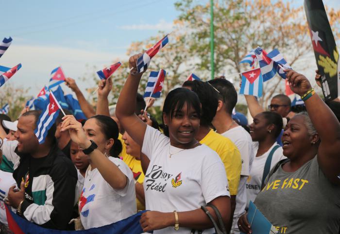 Volk Kubas, Dank dafür