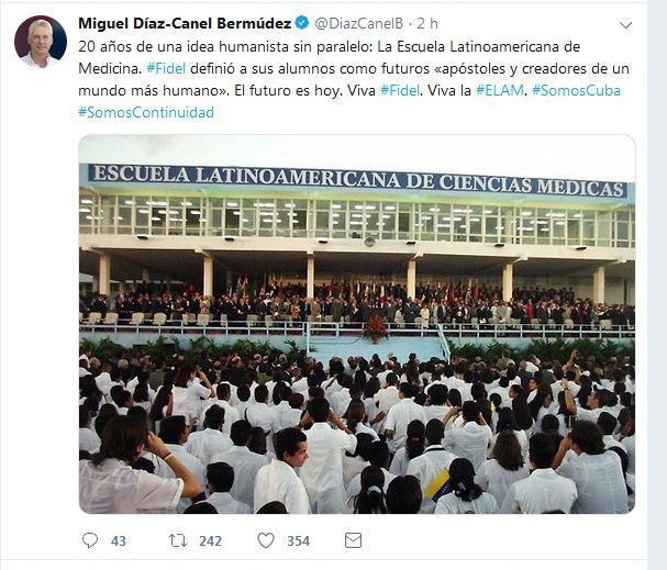 Lateinamerikanischen Schule für Medizin (ELAM)