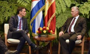 Díaz-Canel empfängt Ministerpräsidenten Spaniens