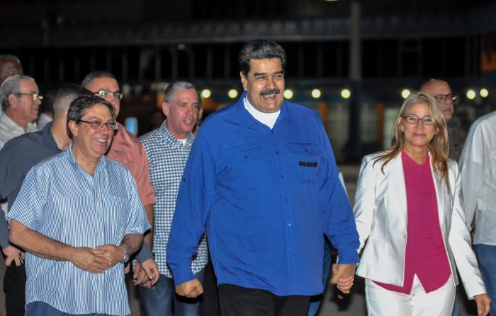 Nicolás Maduro trifft in Havanna ein