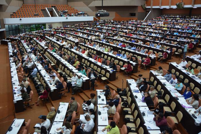 Tagung der IX. Legislaturperiode des kubanischen Parlaments