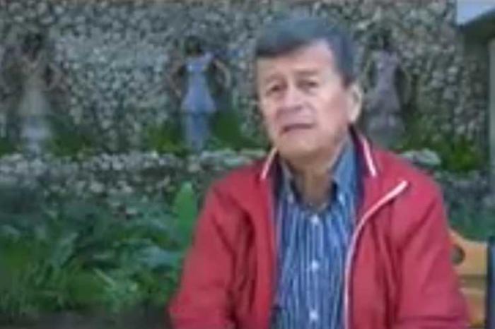 Kommandeur der Guerilla ELN Pablo Beltrán