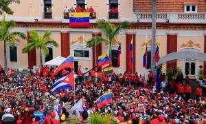 Unterstützung für Maduro