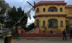 Wiederaufbau nach Sturmnacht in Havanna