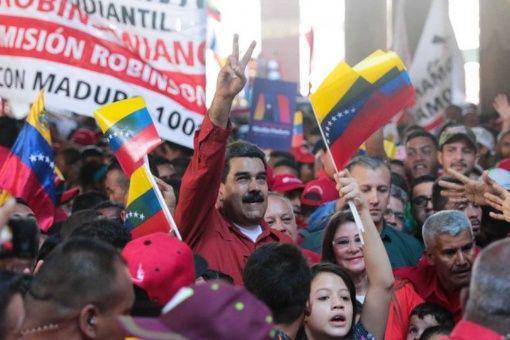 Der rechtmäßige Präsident Venezuelas, Nicolas Madouro